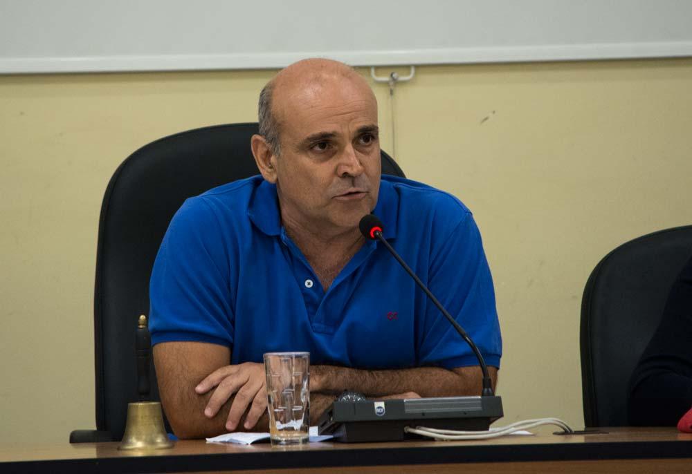 Ο Δήμαρχος Ελευσίνας κ. Γιώργος Τσουκαλάς